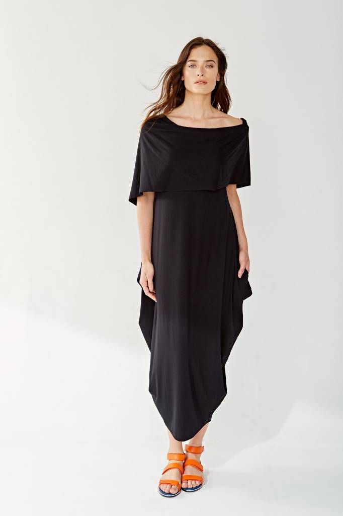 b516c9d75a4 Alembika Alembika Off the Shoulder Dress - Black