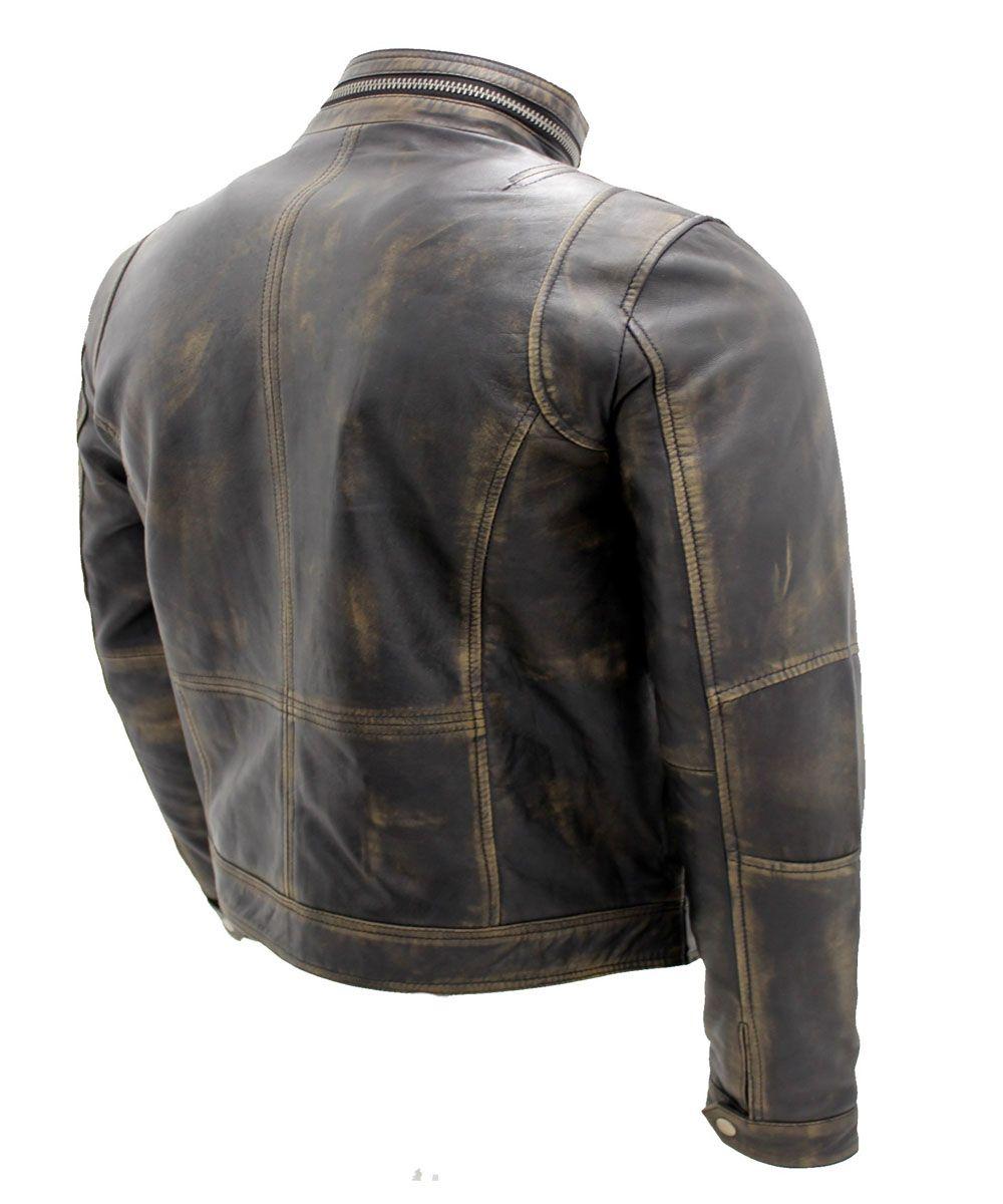 Vintage Black Warm Leather Jacket Mens Leather Jackets On Sale Movies Leather Jackets In Usa Uk Canada Australia In 2020 Distressed Leather Jacket Stylish Leather Jacket Leather Jacket
