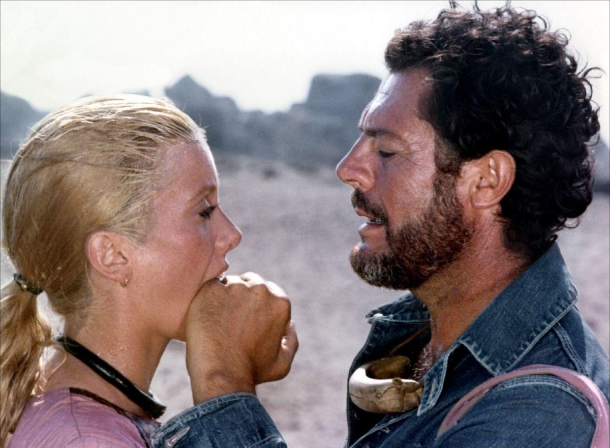 Marcello Mastroianni and Catherine Deneuve in Liza directed by Marco Ferreri, 1972