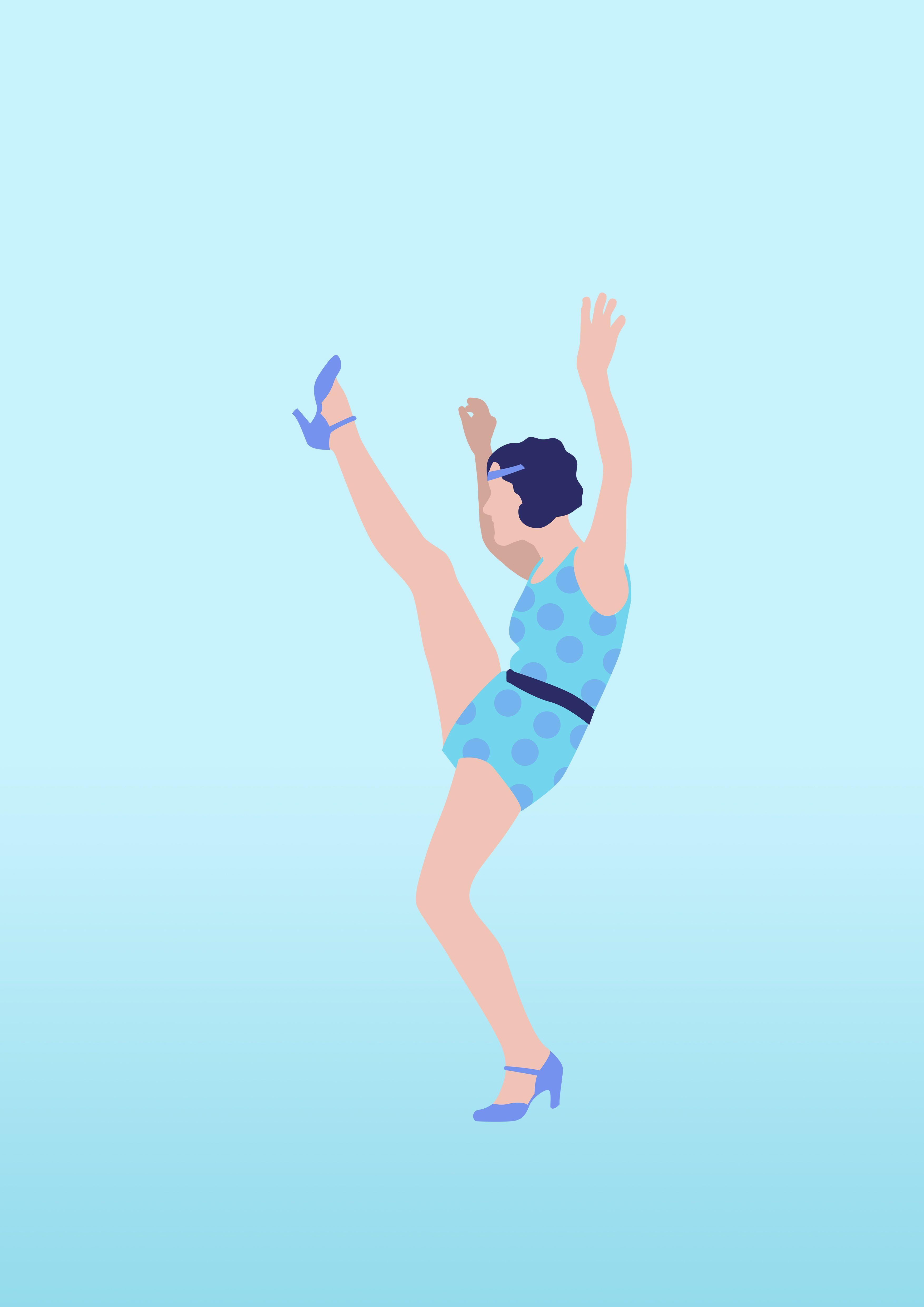 Lindy Hop Is A Daily Inspiration Meet My Little Dancers C Dorothee Cadiot Illustrations Enfants Laura Lee Illustrations
