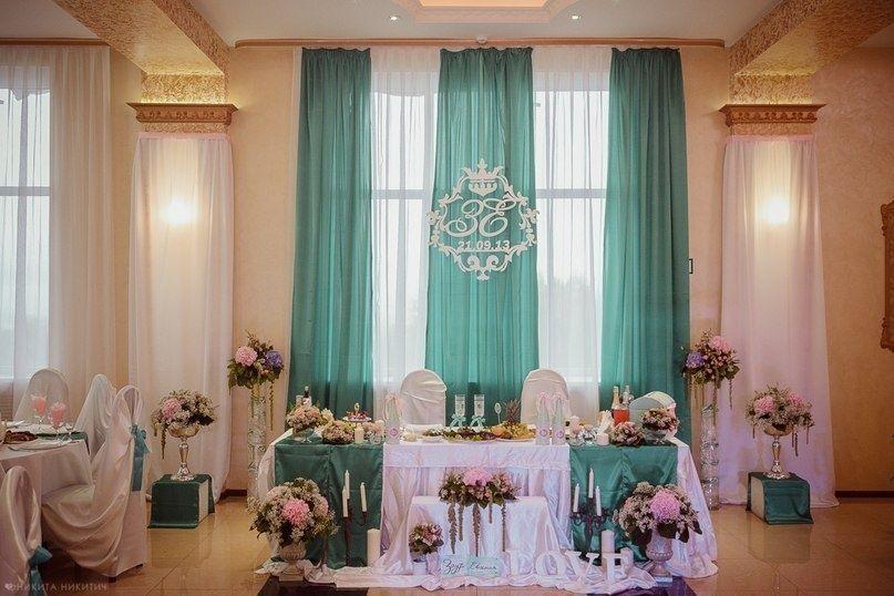 Пример украшения зала для свадьбы 78