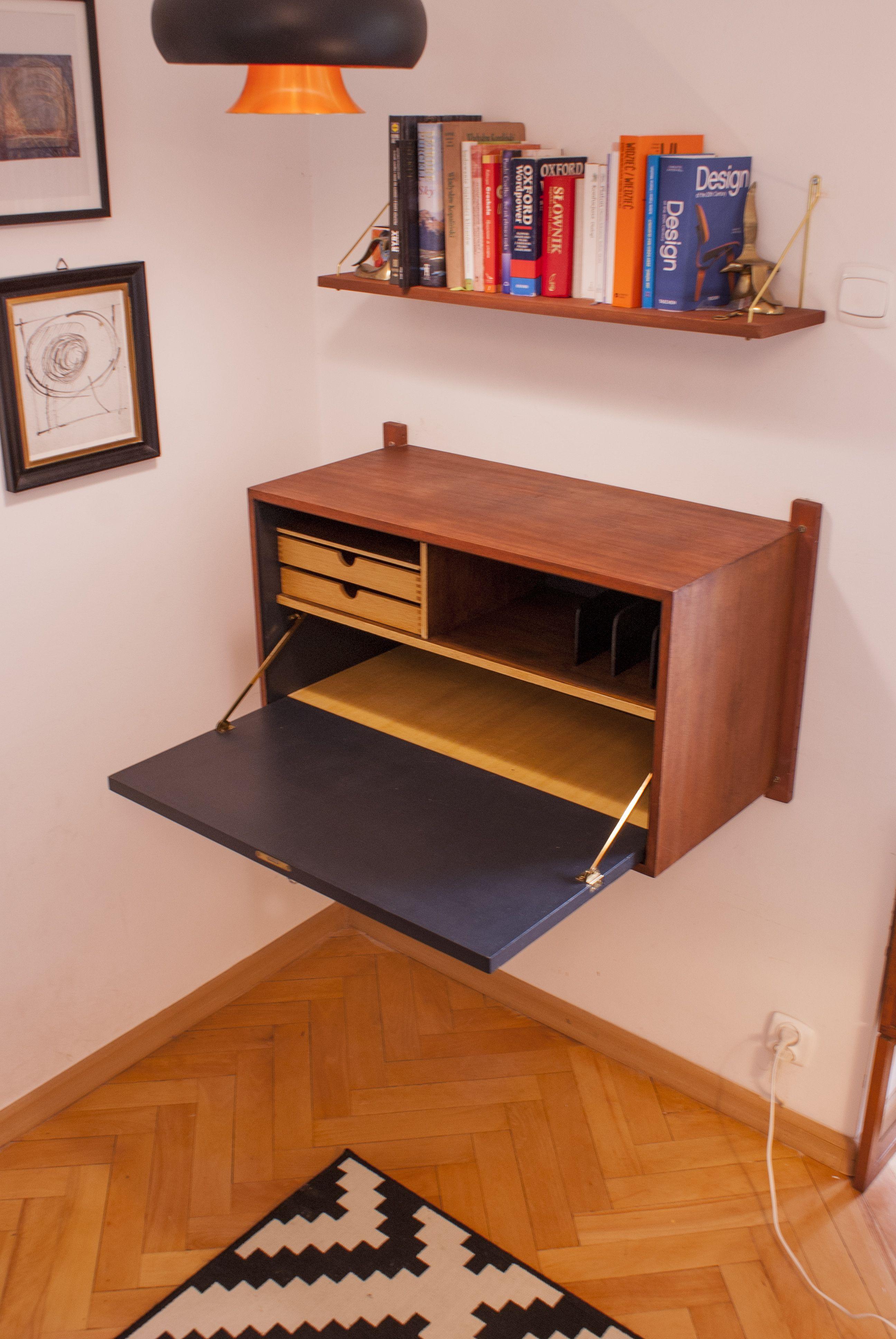 Cado Danish Modern Mid Century Teak Checkerboard Table Furniture
