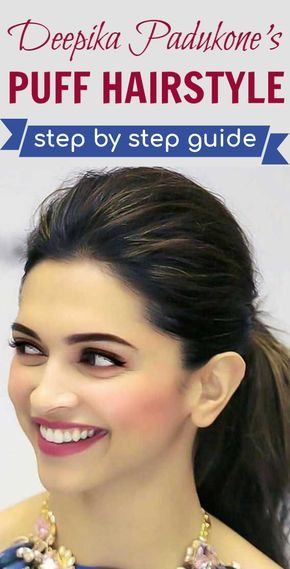 Pin by nidhi pahuja on Hair styles | Hair puff, Deepika ...