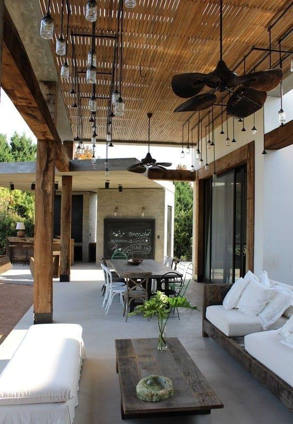 Outdoor Layout Decoracion Terraza Espacios Para Vivir Al