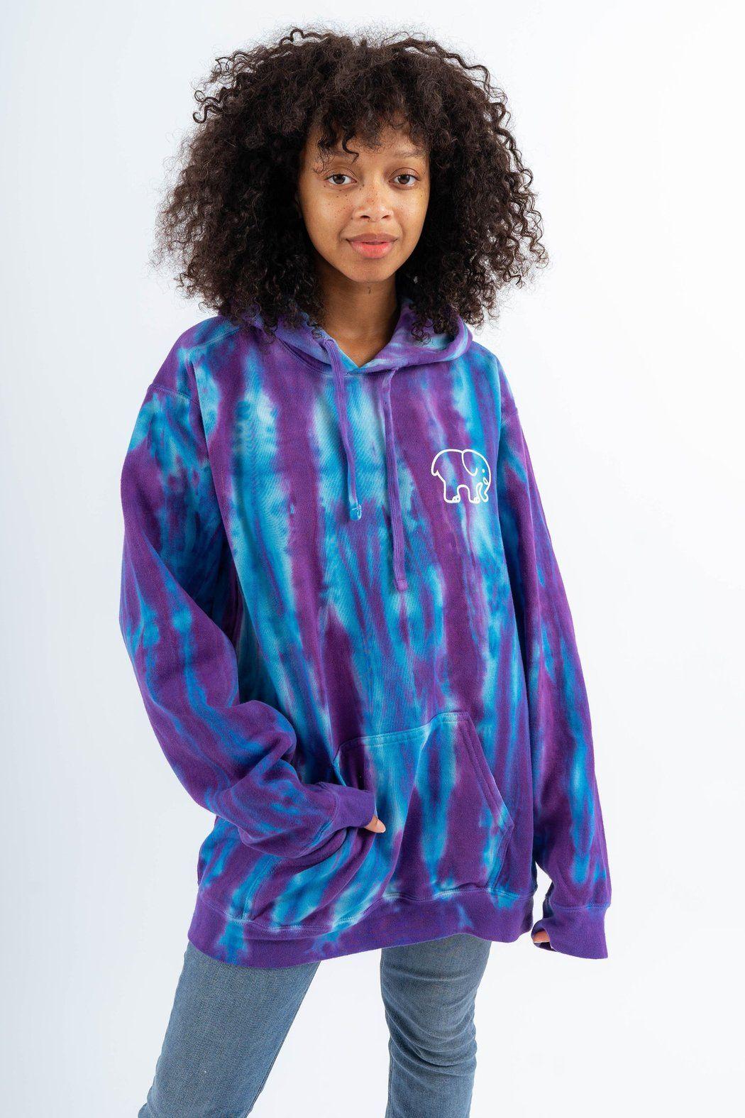 Oversized Turquoise Purple Tie Dye Hoodie Ivory Ella Tie Dye Hoodie Purple Tie Dye Tie Dye [ 1575 x 1050 Pixel ]