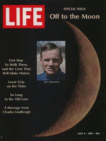 LIFE Magazine July 4 1969 Neil Armstrong Apollo 11