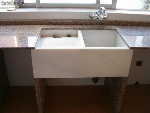 Lavadero para ropa de cemento y adios brazos flacidos for Diseno lavadero