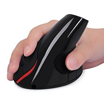 Ergonomic Design USB Vertical Optical Mouse 1200DPI Gaming Mouse for Computer PC