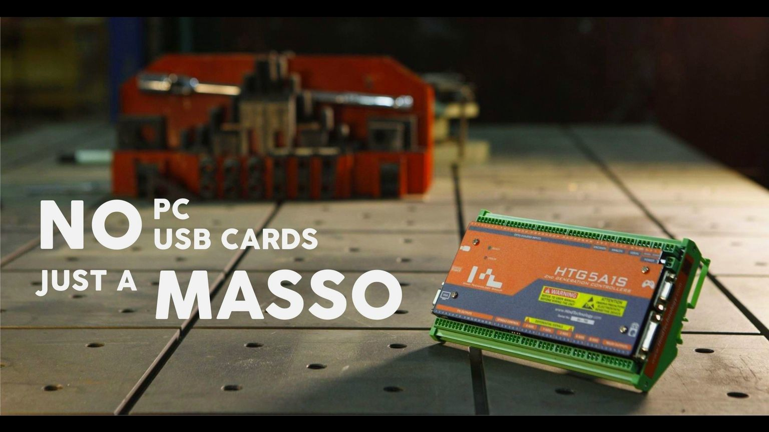 MASSO, The All-In-One CNC Controller that doesn't need a PC