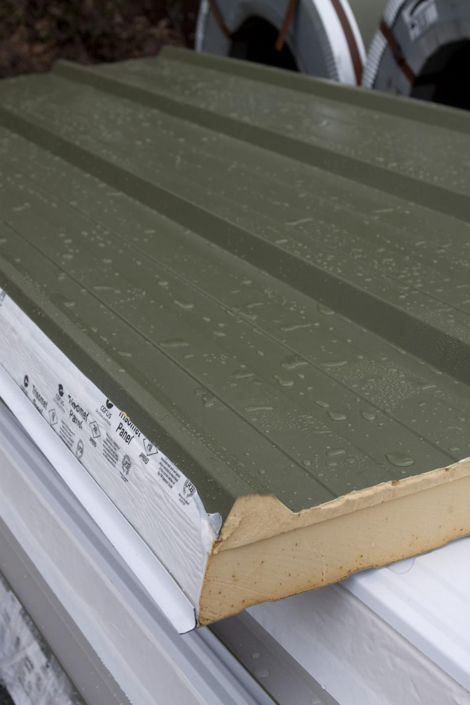 Trisommet 333 Insulated Panels Roof Sheets Sheet Metal Roofing Insulated Panels Steel Cladding