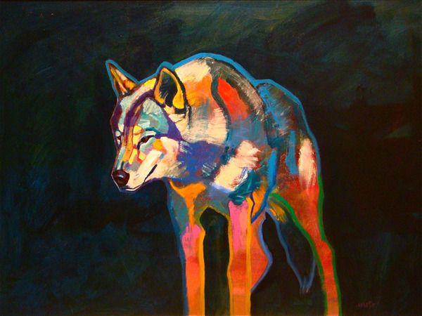 night overview  30x24 by John Nieto  from Nieto Fine Art