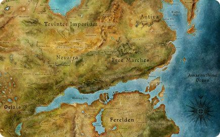 Dragon Age World Map (435×272) | Dragon age, World, Map