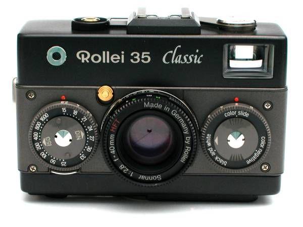 Rollei 35 Classic Black Sonnar 2,8/40mm   Classic camera