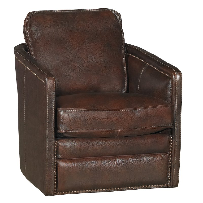 Coffee Brown Leather Match Swivel Barrel Chair Piper Swivel Barrel Chair Barrel Chair Leather Swivel Chair