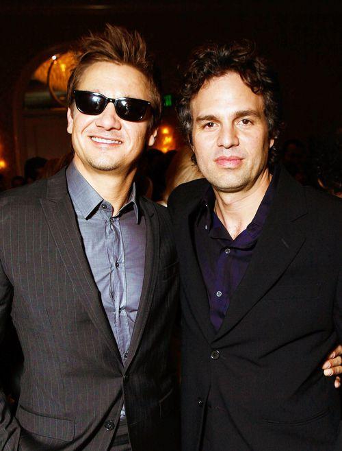 Jeremy Renner and Mark Ruffalo