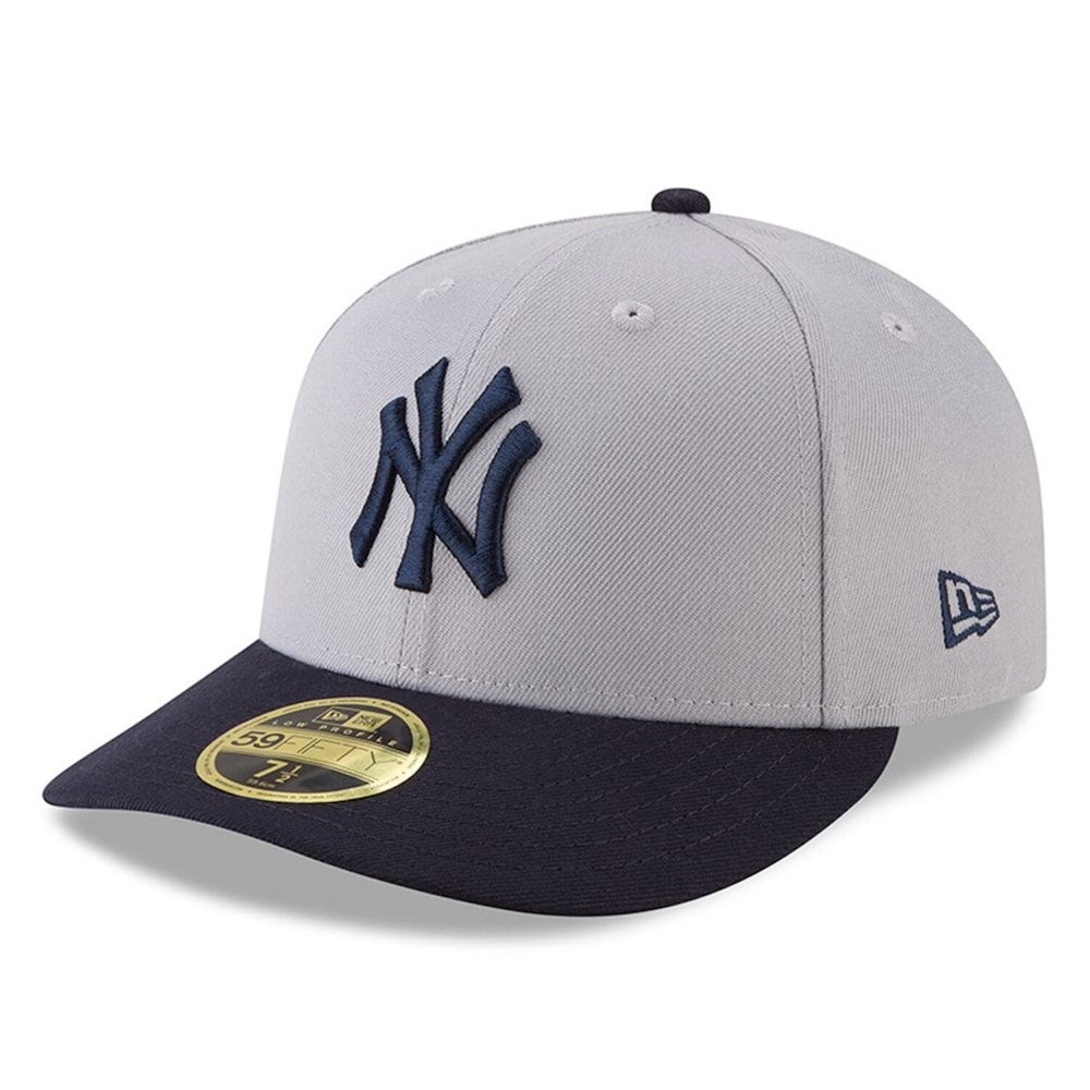 Men S New Era Gray Navy New York Yankees 2018 Players Weekend Low Profile 59fifty Fitted Hat Size 7 5 8 Ynk Grey In 2020 New York Yankees Yankees News Fitted Caps