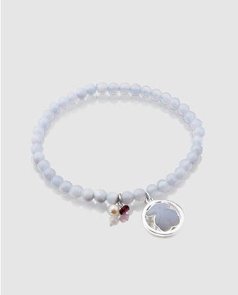 24722c0d6844 Pulsera Tous Camille de plata con piedra y perlas