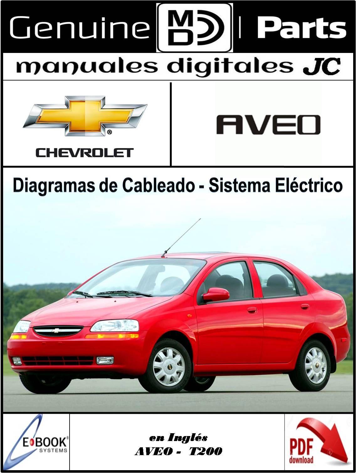 Manual Diagramas De Cableado Y Sistema Electrico Para El Chevrolet Aveo Correo Manualesdigitalesjc Gmail Com Tl
