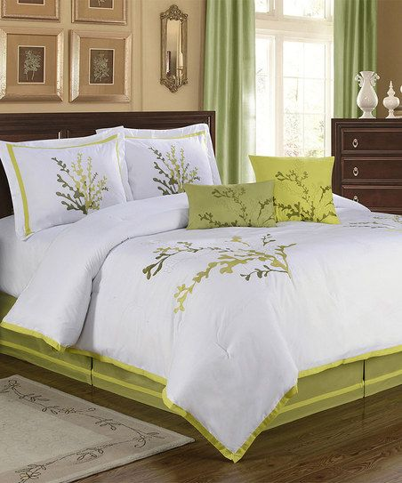 Natures Way Comforter Set. The Colors Are Striking And It