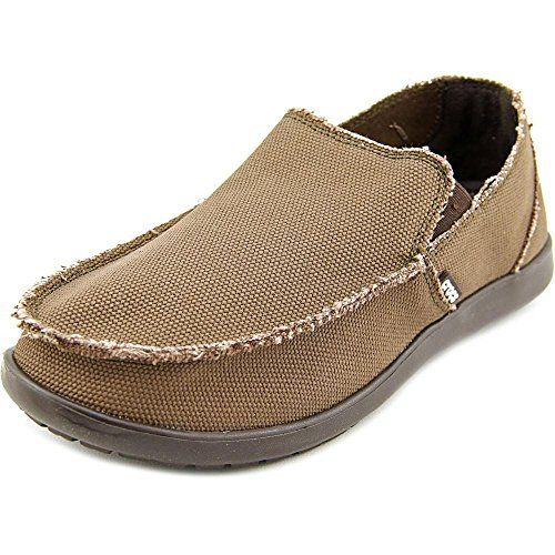 Crocs Men's Santa Cruz Loafer | Casual Comfort Slip On