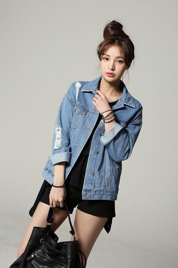 Light Color Denim Jacket