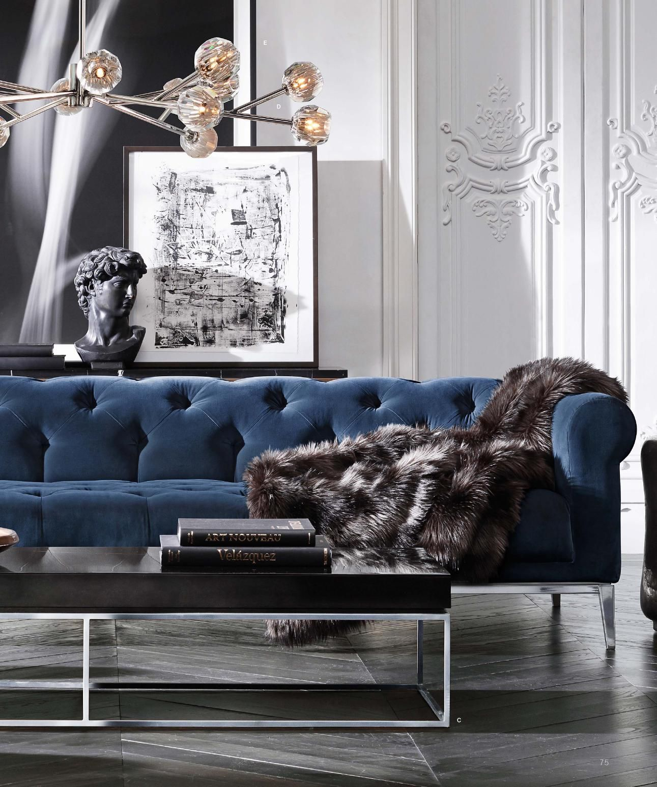 Beautiful Tufted Sofa And Gorgeous Details