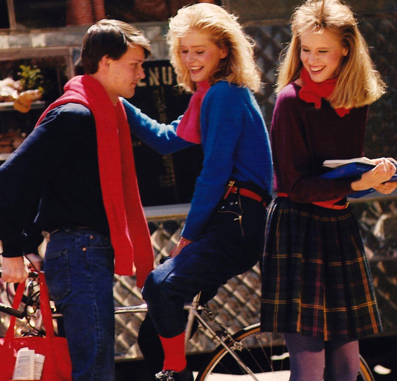Мagazine Fashion 17 Only Sweet Girls: Robin Saidman For Seventeen Magazine, August 1983