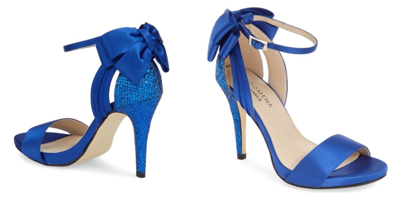 Menbur 'Clarin' Bow Ankle Strap Sandal (Women)