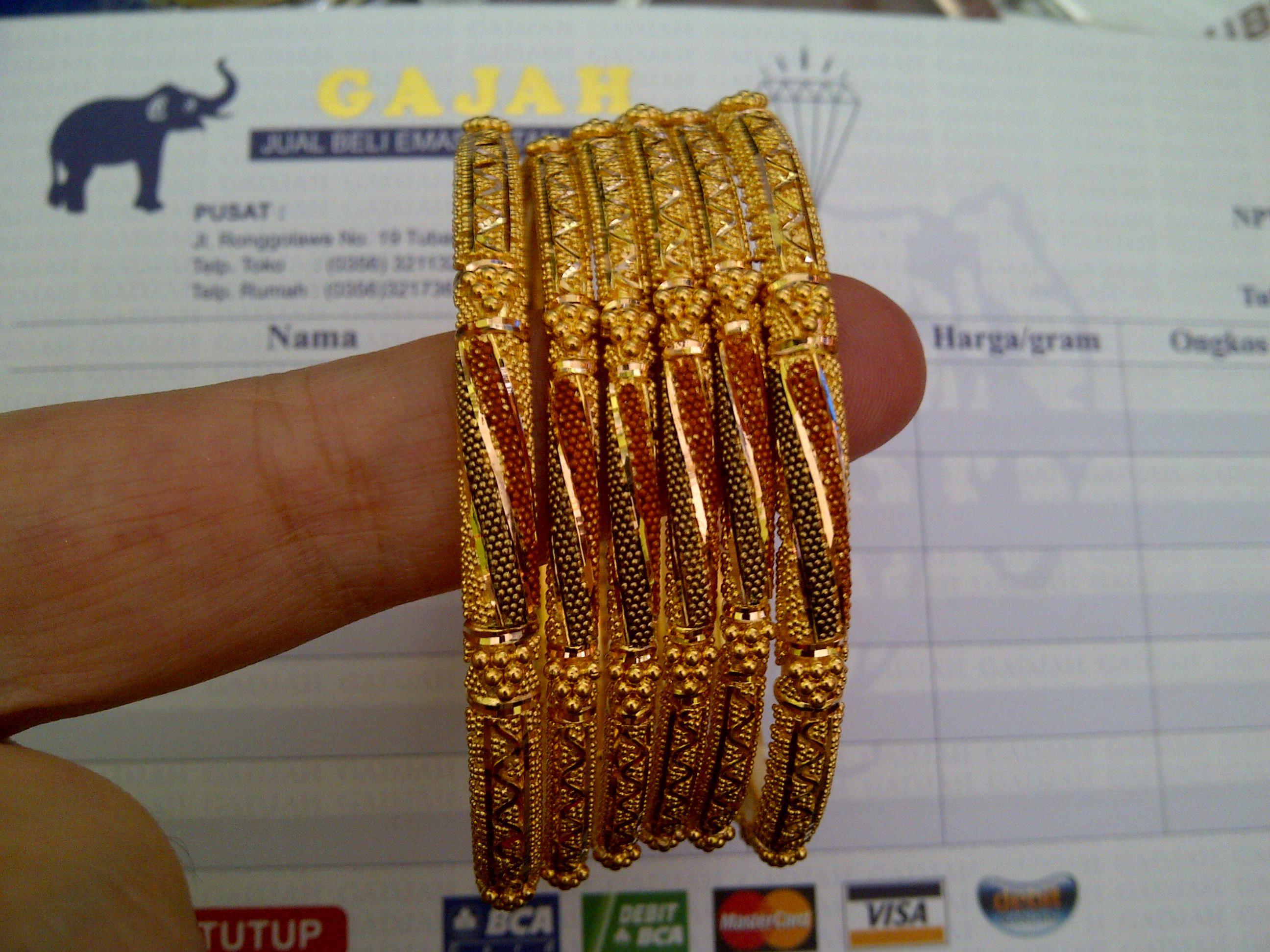 22k Gold India Dubai Bangles Set Gold Jewelry 24k Gold Jewelry Gold Bangles