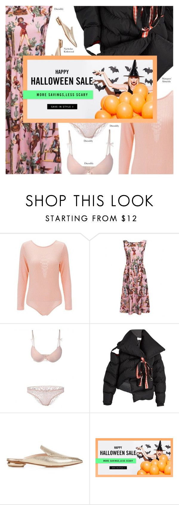 """""""DRESSLILY 5"""" by amberelb ❤ liked on Polyvore featuring Marques'Almeida and Nicholas Kirkwood"""