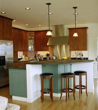 8 - Modern Arts & Craft Mountain Retreat - modern - kitchen - miami - Adelene Keeler Smith Interior Design