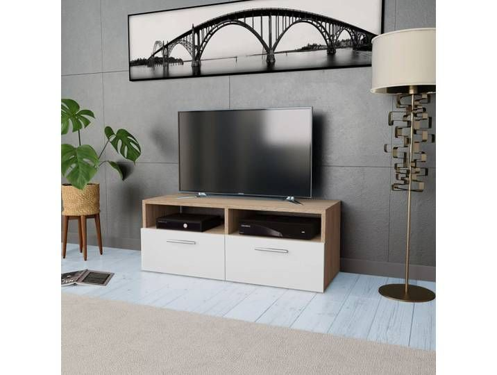 Sicily 100 Modern Tv Stand With Storage Living Room Wall Units