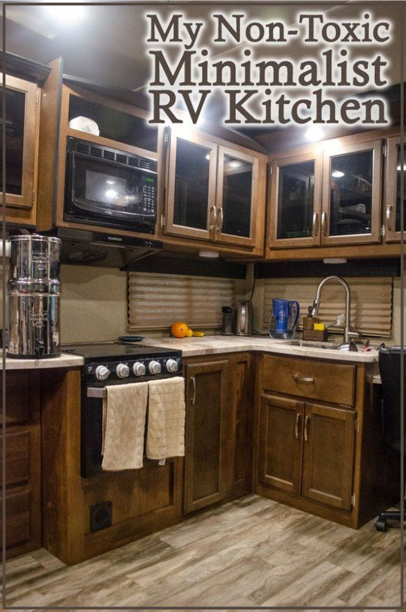I live full-time in an RV and follow a minimalist, non ...
