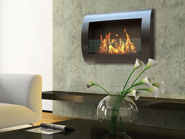 Anywhere Fireplace Chelsea Wall Mount Indoor Fireplace With