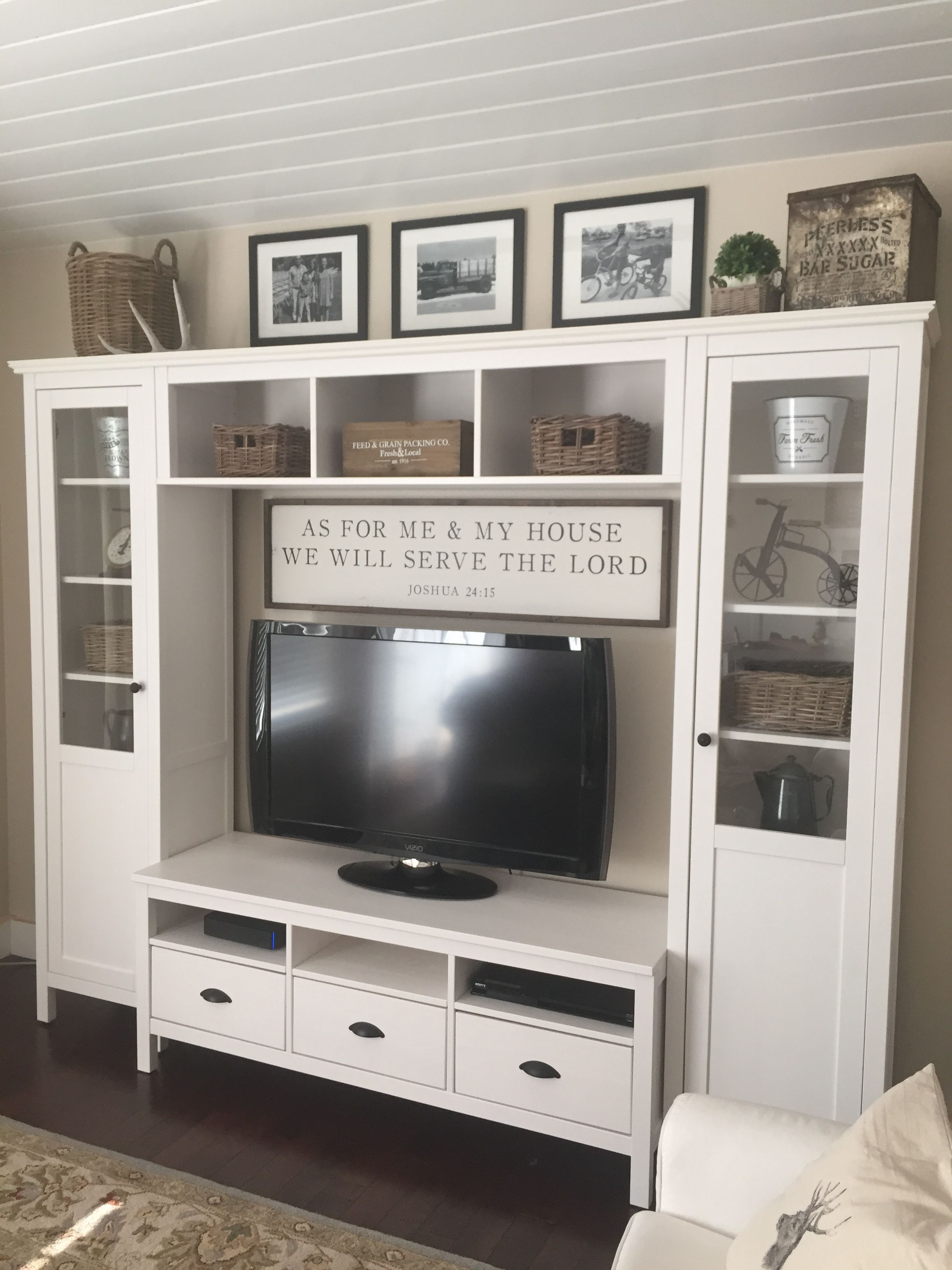Farmhouse Entertainment Center Farmhouse Entertainment Center Ikea Entertainment Center Farm House Living Room