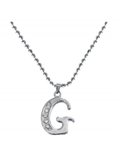 Silver g alphabet pendant alphabet pendantgold toned alphabet buy designer fashionable alphabet pendant withchain we have a wide range of traditional modern and handmade without chain pendants online aloadofball Images