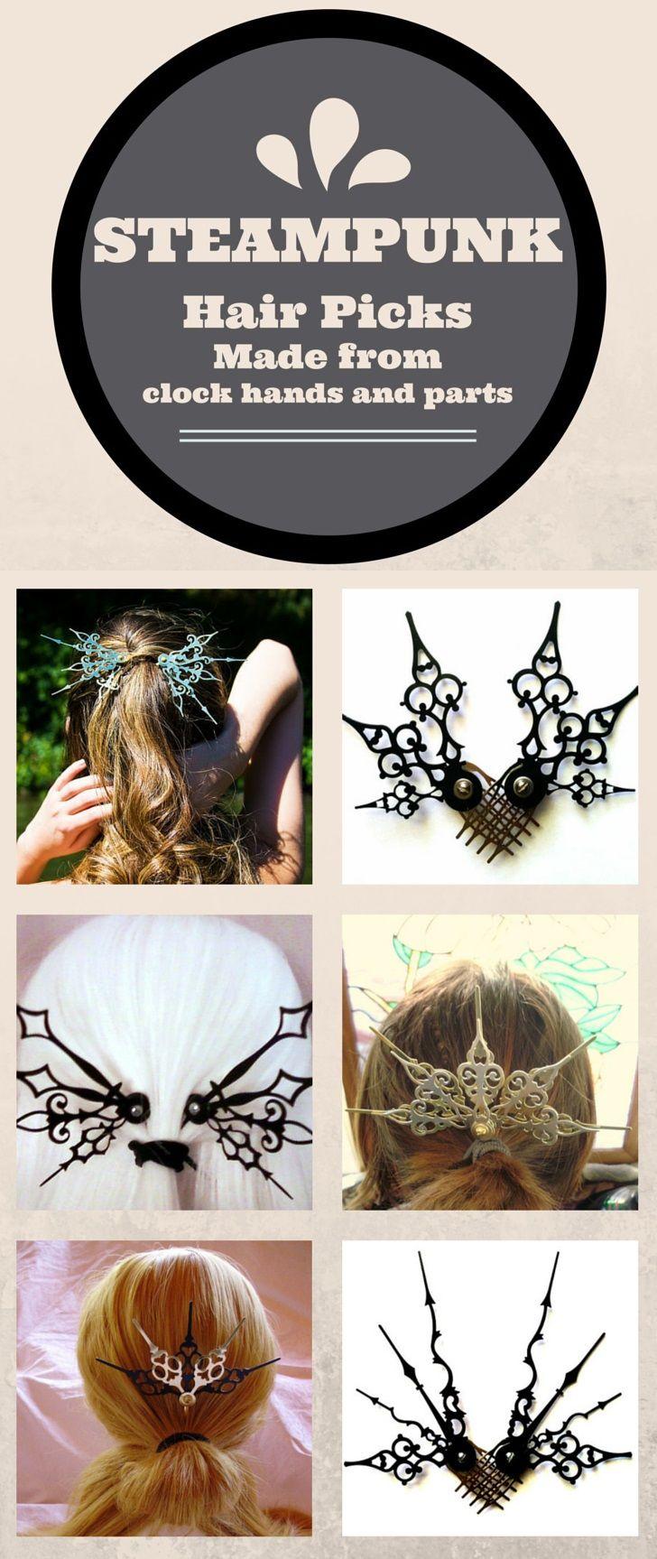 Clockwork Hair Accessories Love This Style Pinterest Accessori