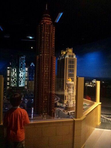 Lego version of Bank of America building Atlanta, Ga   Kragle worthy ...