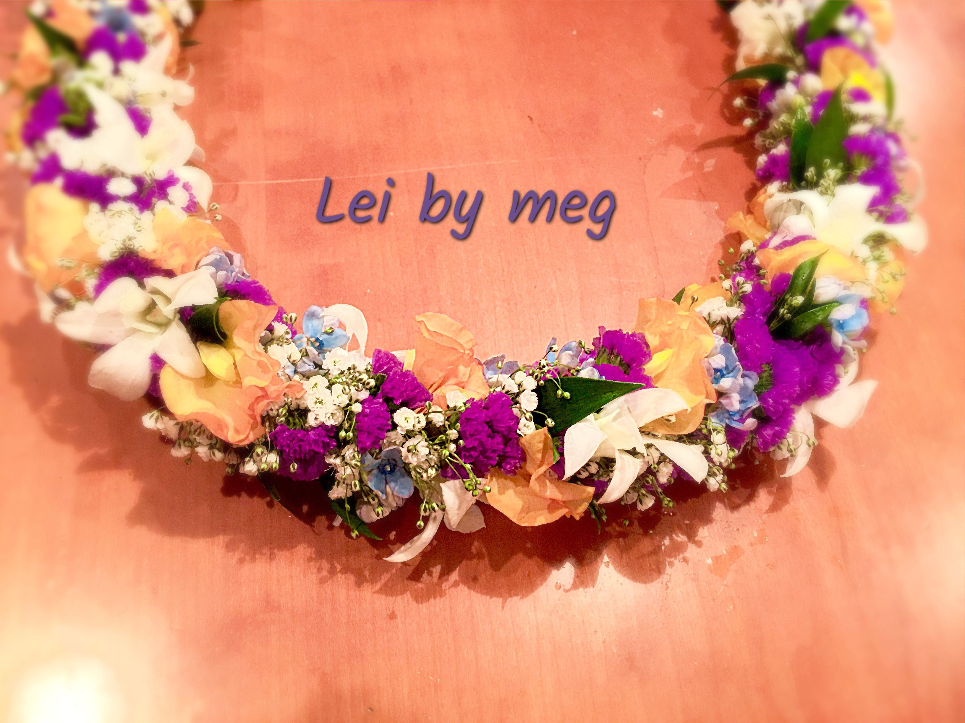 Pin by meg matsuyama on hawaiian fresh flower lei pinterest leis flower lei leis fresh flowers hawaiian garlands floral wreath izmirmasajfo