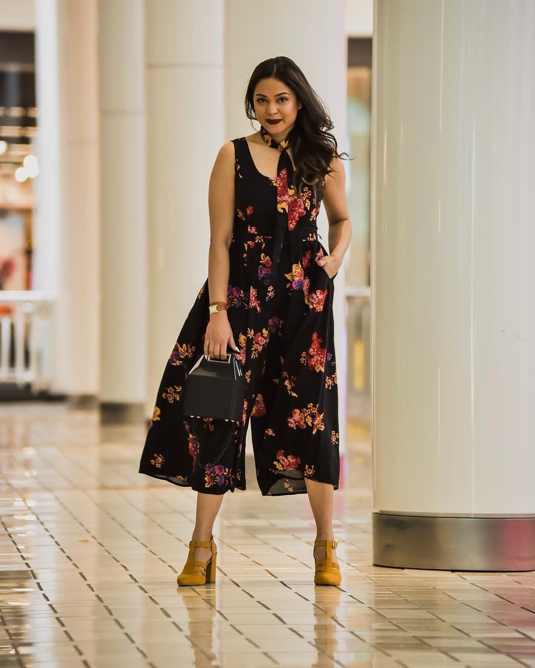 4b18ba3fb2f ModCloth x Saumya  myriadmusings in our Unbridled Enthusiasm Wide-Leg  Jumpsuit.