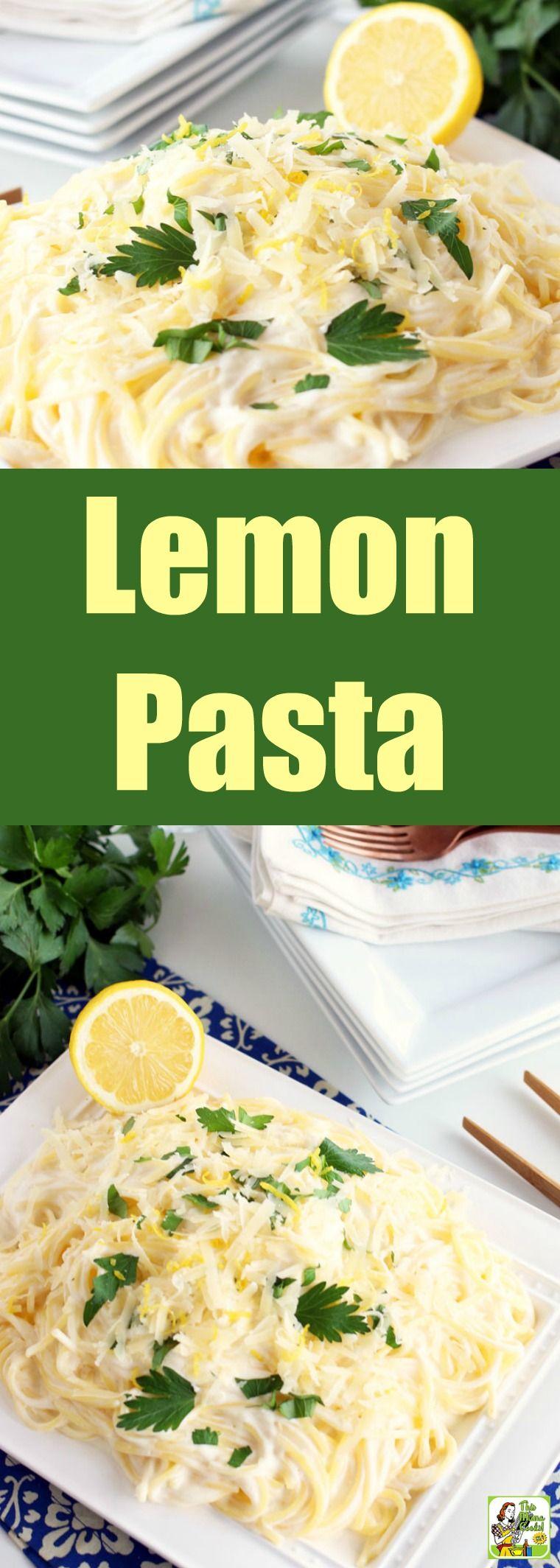 Simple Lemon Pasta