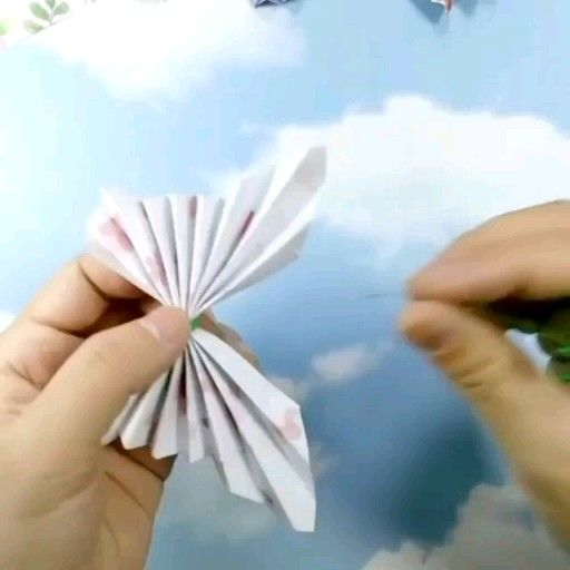 Photo of origami easy butterfly making