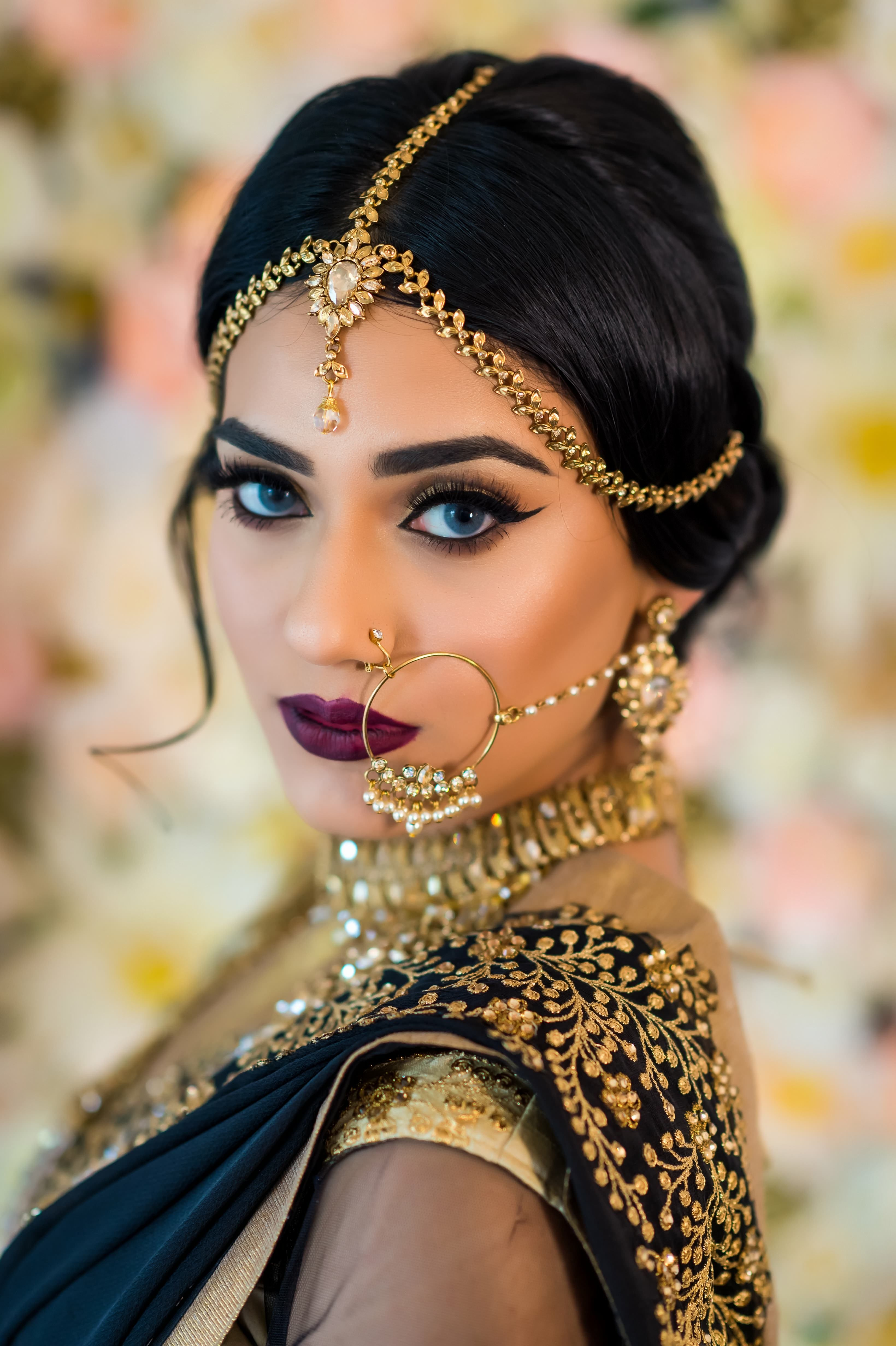 Simply Navabi Collection Indian wedding makeup, Indian