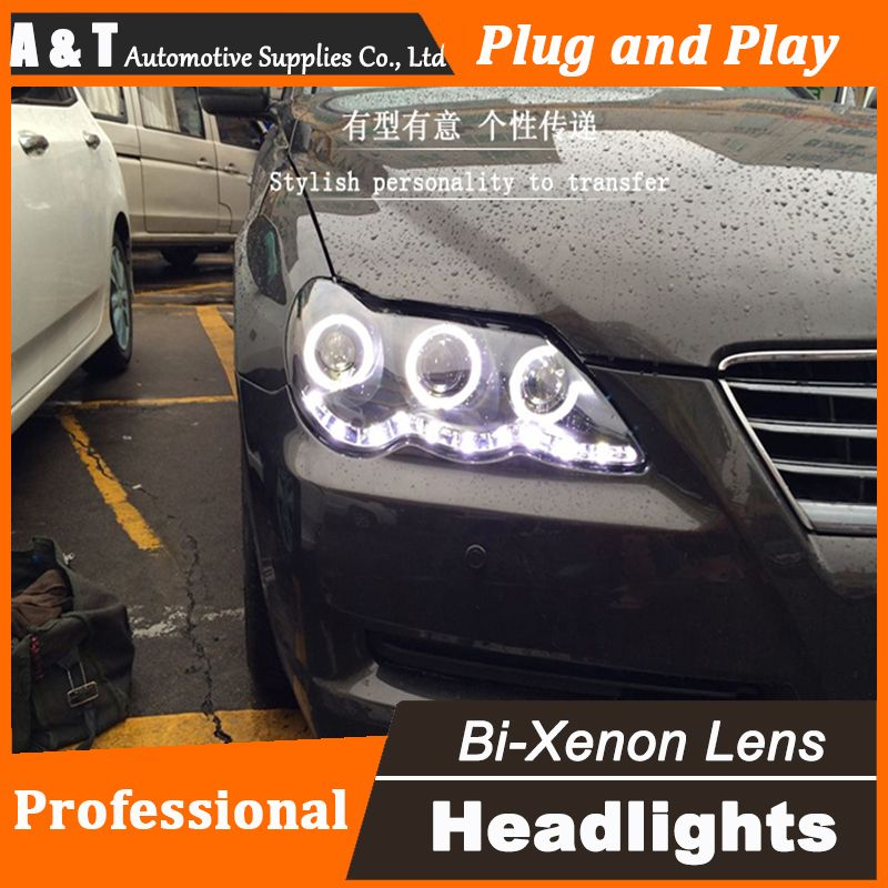 Car Styling New For Toyota Reiz Mark X Headlights 2009 2012 Mark X