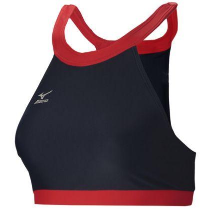 View All Women S Mizuno Women S Odyssey High Neck Top High Neck Top Women Athletic Tank Tops