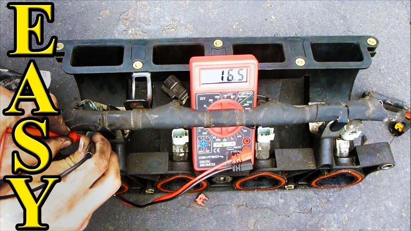 Using a Multimeter to Test Fuel Injector Resistance Ohms. Learn how ...
