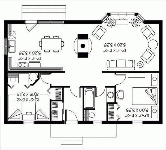 planos de casas ventanas