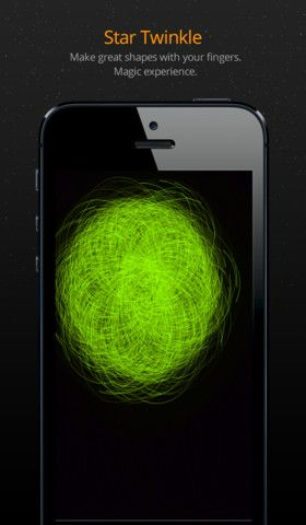 Space Twinkle .99 for Apple devices. A relaxing app with