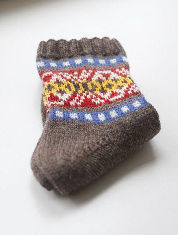 Skroo Fair Isle Socks - PDF Knitting Pattern | Knitting: Head ...
