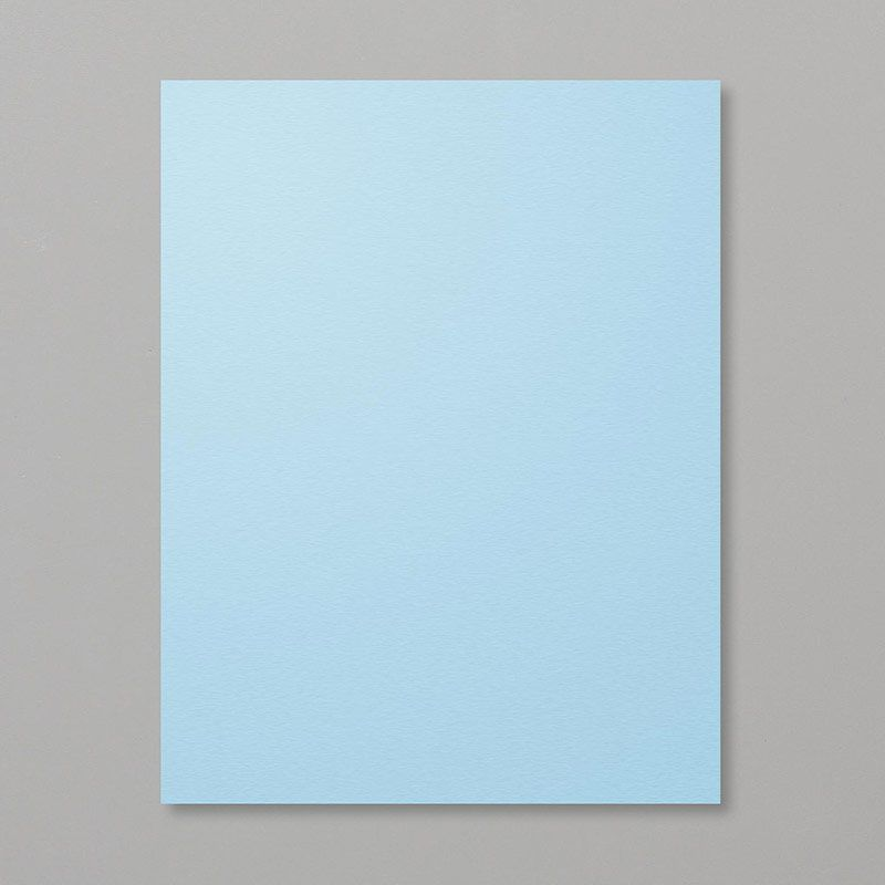 Balmy Blue 8 1 2 X 11 Cardstock 146982 The Ultrasmooth Surface
